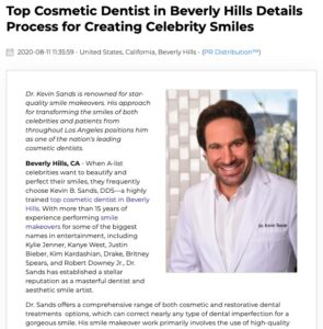 Beverly Hills cosmetic dentist discusses his celebrity smile makeover process